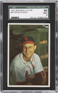 Baseball Cards:Singles (1950-1959), 1953 Bowman Color Stan Musial #32 SGC 96 Mint 9....