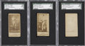 Boxing Cards:General, 1888 N332 S.F. Hess Boxing SGC-Graded Trio (3) - Each the FinestExample Recorded....