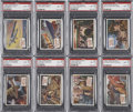 Non-Sport Cards:General, 1954 Topps Scoop PSA NM-MT 8 Collection (8)....