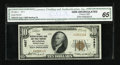 National Bank Notes:Pennsylvania, Reading, PA - $10 1929 Ty. 1 The Reading NB & TC Ch. # 4887....