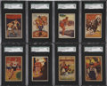 "Non-Sport Cards:General, 1935 Schutter-Johnson ""I'm Going To Be"" SGC-Graded Set (24). ..."