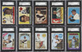 Baseball Cards:Lots, 1950's-1970's Topps & Bowman Hall of Famers Collection (42)....