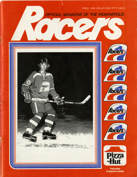 newest collection 06504 9db2a 1978 Indianapolis Racers Official Game Programs with Wayne ...