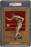 Boxing Cards:General, 1911 T9 Turkey Red #57 Battling Nelson PSA VG+ 3.5....