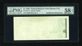 Error Notes:Blank Reverse (<100%), Fr. 1914-J $1 1988 Federal Reserve Note. PMG Choice About Unc 58EPQ.. ...