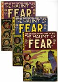 Golden Age (1938-1955):Horror, Haunt of Fear Group (EC, 1952-54) Condition: Average GD.... (Total:3 Comic Books)