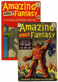 Silver Age (1956-1969):Science Fiction, Amazing Adult Fantasy #8 and 9 Group (Marvel, 1962) Condition: Average GD/VG.... (Total: 2 Comic Books)