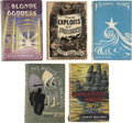 Books:Fiction, Lot of Ten British Fantasy, Science Fiction and Genre Titles Fromthe 1940s and 1950s,... (Total: 10 Items)