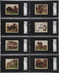 "Non-Sport Cards:General, 1933 R71 Planters Nuts ""Hunted Animals"" SGC-Graded Complete Set(25). ..."