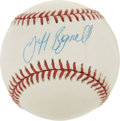 Autographs:Baseballs, Jeff Bagwell Single Signed Baseball....