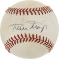 Autographs:Baseballs, Wills Mays Single Signed Baseball....