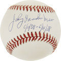 Autographs:Baseballs, Johnny Vander Meer Single Signed Baseball....