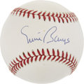 Autographs:Baseballs, Ernie Banks Single Signed Baseball....
