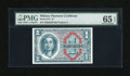 Military Payment Certificates:Series 611, Series 611 $1 PMG Gem Uncirculated 65 EPQ....