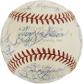 Autographs:Baseballs, 1970 Oakland Athletics Team Signed Baseball....