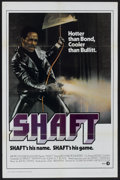 "Movie Posters:Blaxploitation, Shaft (MGM, 1971). One Sheet (27"" X 41"") Style F.Blaxploitation...."