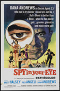 "Movie Posters:Adventure, Spy in Your Eye (American International, 1966). One Sheet (27"" X41""). Adventure...."