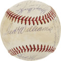 Autographs:Baseballs, 1971 Washington Senators Team Signed Baseball....