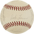 Autographs:Baseballs, 1971 Kansas City Royals Team Signed Baseball....