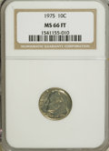 Roosevelt Dimes: , 1975 10C MS66 Full Bands NGC. PCGS Population (8/2). Mintage:585,673,920. (#85147)...