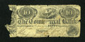 Canadian Currency: , Kingston, UC- Commercial Bank $10 or 50s Jan. 21, 1854 Ch. #190-22-04C. ...