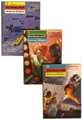 Magazines:Science-Fiction, Fantasy and Science Fiction Group (Fantasy House, Inc., 1954-55)Condition: Average FN.... (Total: 23 Items)