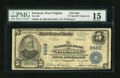 National Bank Notes:West Virginia, Fairmont, WV - $5 1902 Plain Back Fr. 600 The NB of Fairmont Ch. #9462. ...