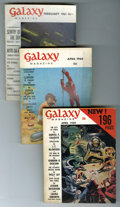Magazines:Science-Fiction, Galaxy Group (Universal Publishing, 1959-63) Condition: AverageFN.... (Total: 15 Items)