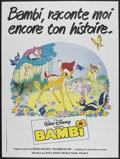"Movie Posters:Animated, Bambi (Walt Disney France, R-1980s). French Grande (47"" X 63"").Animated...."