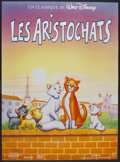 """Movie Posters:Animated, The Aristocats (Gaumont/Buena Vista, R-1980s). French Grande (45"""" X61.5""""). Animated...."""