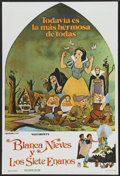 "Movie Posters:Animated, Snow White and the Seven Dwarfs (Buena Vista, R-1975). ArgentineanPoster (29"" X 42.5""). Animated...."