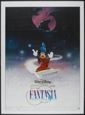 "Movie Posters:Animated, Fantasia (Warner Brothers, R-1990). French Grande (46.5"" X 62). Animated...."