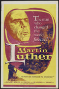 "Movie Posters:Historical Drama, Martin Luther (Louis De Rochemont Associates, 1953). One Sheet (27""X 41""). Historical Drama...."