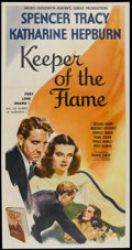"Movie Posters:Drama, Keeper of the Flame (MGM, 1942). Three Sheet (41"" X 81"") Style A.Drama...."