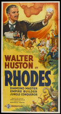 "Movie Posters:Drama, Rhodes (Gaumont, 1936). Three Sheet (41"" X 81""). Drama...."