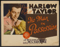 "Movie Posters:Romance, Personal Property (MGM, 1937). Title Lobby Card and Lobby Cards (3) (11"" X 14""). Released in Australia as The Man in Posse... (Total: 4 Items)"