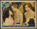 "Movie Posters:Academy Award Winner, Mutiny On The Bounty Lot (MGM, 1935). Lobby Cards (2) (11"" X 14"").Academy Award Winner.... (Total: 2 Items)"