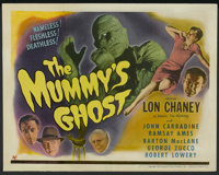 "The Mummy's Ghost (Universal, 1944). Title Lobby Card (11"" X 14""). Horror"