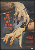 """Movie Posters:Horror, Night of the Living Dead (Continental, 1968). Autographed German A1 (23"""" X 33""""). Horror...."""