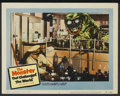"Movie Posters:Science Fiction, The Monster that Challenged the World (United Artists, 1957). LobbyCard (11"" X 14""). Science Fiction...."