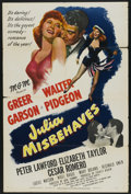 "Movie Posters:Comedy, Julia Misbehaves (MGM, 1948). One Sheet (27"" X 41""). Comedy...."