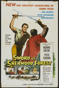 "Movie Posters:Adventure, Sword of Sherwood Forest (Columbia, 1960). One Sheet (27"" X 41"").Adventure...."