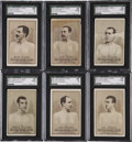 """Boxing Cards:General, 1887 N269 Lorillard's """"Boxers"""" SGC-Graded Collection (6)...."""
