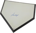 Autographs:Others, Circa 2000 Sandy Koufax Signed Home Plate....