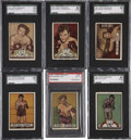 Boxing Cards:General, 1951 Topps Ringside Complete Set (96)....