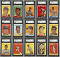 Baseball Cards:Sets, 1958 Topps Baseball High Grade Complete Set (494)....
