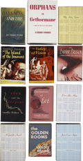 Books:First Editions, Vardis Fisher. The Testament of Man Series in Twelve Volumes....(Total: 12 Items)