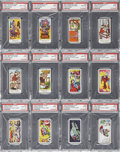 Non-Sport Cards:General, 1960's Primrose Conf. Superman & Flintstones-Series F HighGrade Complete Sets (2).... (Total: 2 set)
