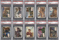 Non-Sport Cards:General, 1954 Topps Scoop PSA-Graded Partial Set (101/156)....