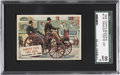 """Non-Sport Cards:General, 1954 Topps Scoop """"Daimler Tests First Auto"""" #116 SGC 96 Mint 9...."""
